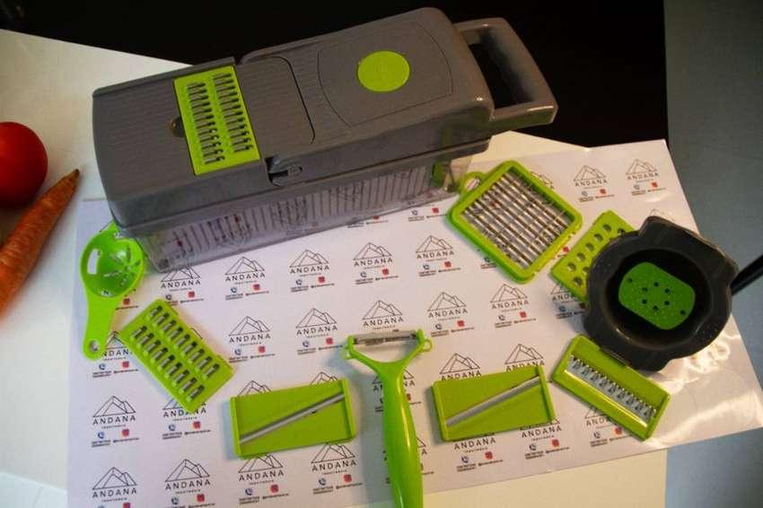 Picadora Multifuncional 14 tipos de corte