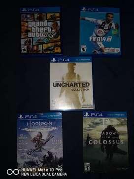 Video juegos play 4