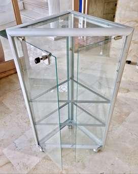 Vitrinas pequeñas de vidrio