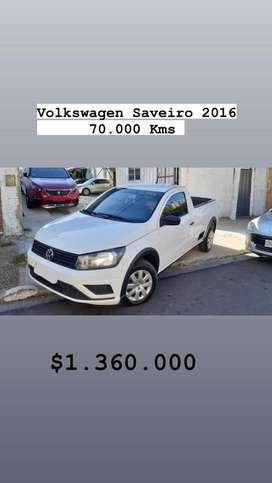 Volkswagen Saveiro 2016 impecable