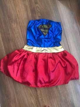 Vestido supergirl hallowen