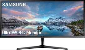 Samsung - Monitor de juego ultra ancho SJ55W de 34 pulgadas