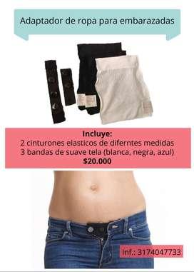 Adaptador ropa embarazadas