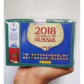 Caja Láminas x 104 sobres Panini Mundial Rusia 2018 Envío Gratis