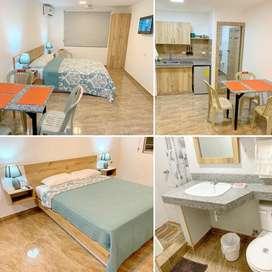 Suite o departamento amoblado para 2 o 4 personas urdenor urdesa kennedy garzota miraflores centro samborondon