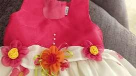 Vestido Rosado para Niña