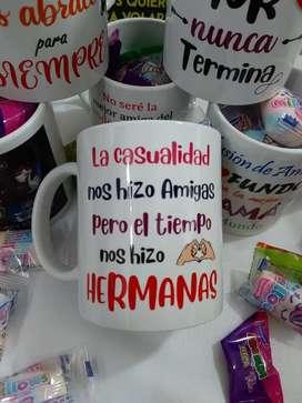 Mugs personalizados para el día del Amor y la Amistad