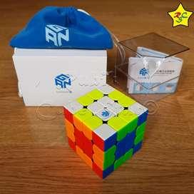 Gans 460 Magnético Gan460m 4x4 Speedcube Negro/stickerless