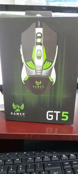 Mouse gamer tech gt5 rvg