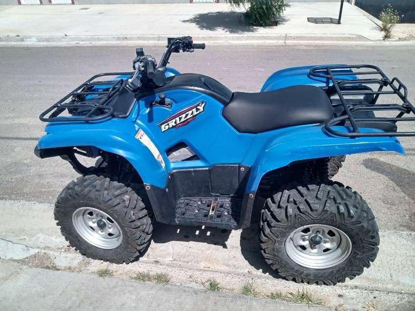 Cuatriciclo Yamaha Grizzly 700 4x4 0