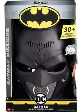 Batman Mascara Distorciona Voz Sonido Mattel Original