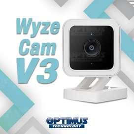 Seguridad - Cámara Wifi Wyze Cam V3 ( Versión 3 ) Original 1080p Compatible Google Assistance Amazon Alexa