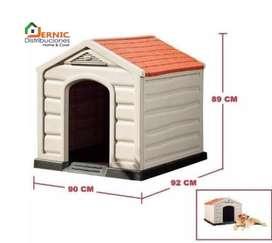 Casas plasticas para perros marca RIMAX con servicio a Domicilio en Quito