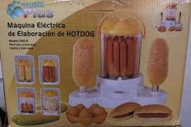 Maquina electrica para hacer perros calientes