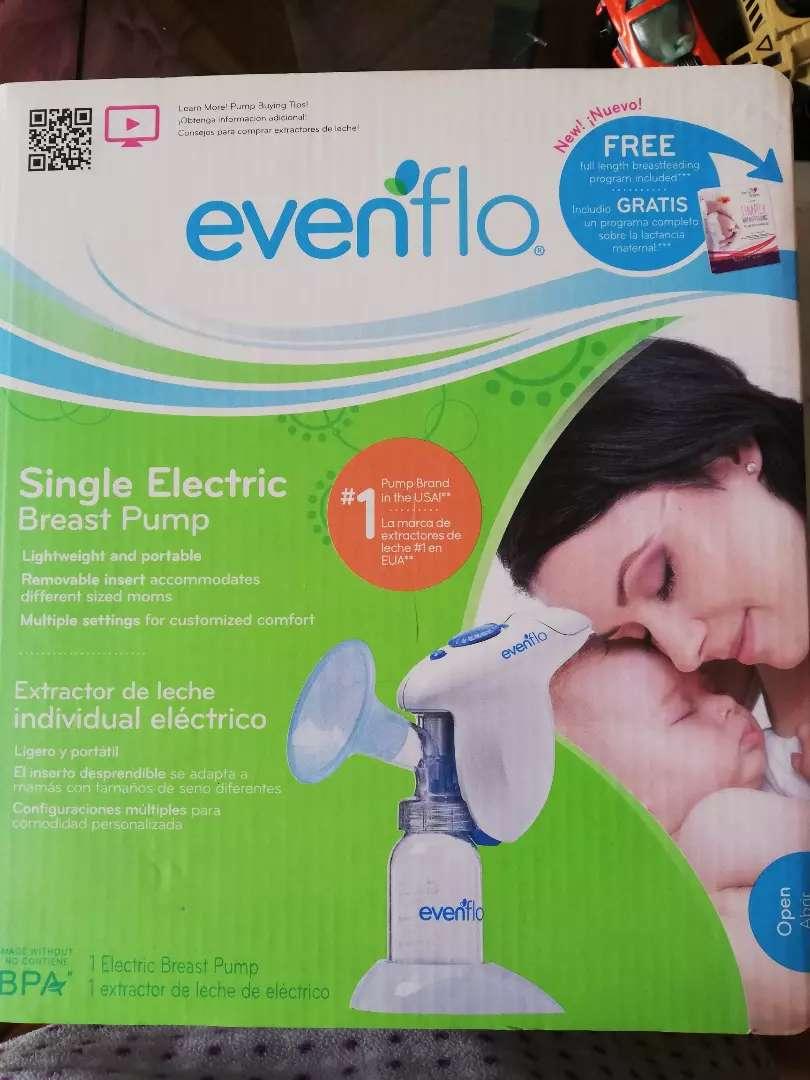 Extractor Eléctrico de leche materna marca Evenflo NUEVO 0