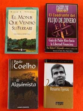 Cuatro libros por el precio de uno.