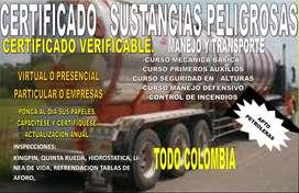 TRANSPORTE MERCANCÍA Y SUSTANCIAS PELIGROSAS