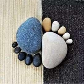 Relajate por un instante y conocé los beneficios de masajes con piedras