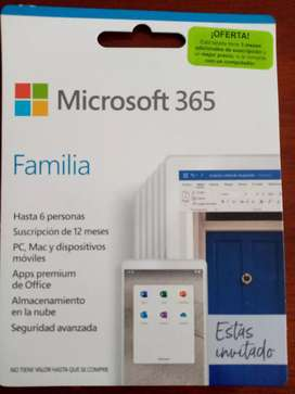 Licencia Office 365 x 14 meses