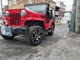 Jeep Willys modelo:1954, motor original,4x4.