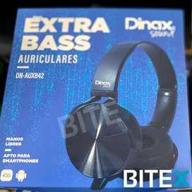Auricular Dinax Extra Bass(ord334)