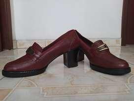 Zapatos en puro cuero