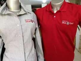 camisetas polo,  dotación, bordado de logos y toda clase de bordados