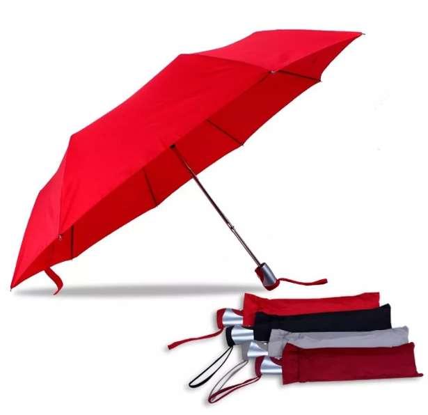 Paraguas Porta Cartera Con Filtro Uv 0