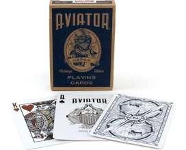 Cartas Aviator Heritage Baraja Aviador Herencia Piloto Vuelo.