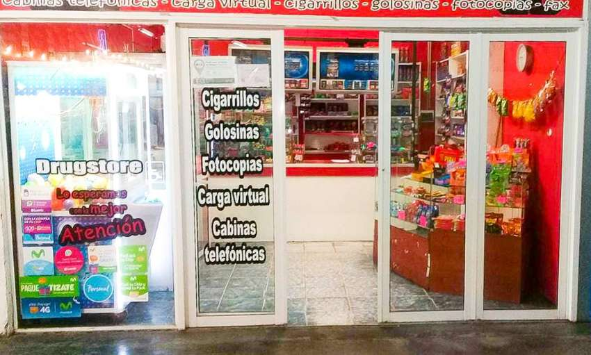 Dueño Vende Fondo de Comercio KIOSKO 0