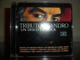 Tributo a Sandro un disco de rock cd