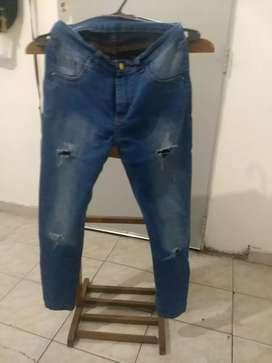 Jean moderno