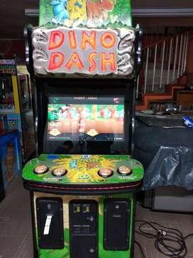 Dino Dash - Todo un clásico - Maquina de Redención para grandes y chicos