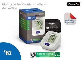 TENSIOMETRO-MONITOR DE PRESIÓN ARTERIAL DE BRAZO AUTOMÁTICO OMRON CONTROL PLUS HEM-7121