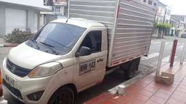 Ofrezco vehículos tipo furgon para transporte de carga empresarial