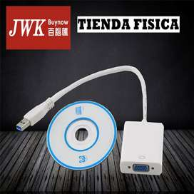 Usb 3.0 A Vga Video Display Adaptador Jwk