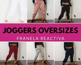 JOGGERS OVERSIZES MUJER