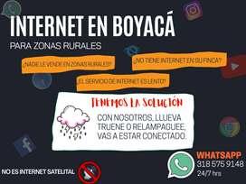 INTERNET PARA ZONAS RURALES (y urbanas) EN BOYACA y otros departamentos