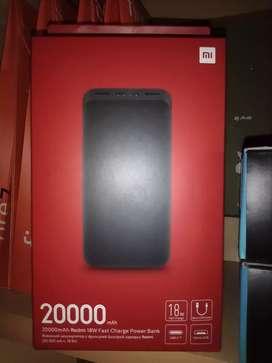 Power bank Xiaomi 20,000 mAh