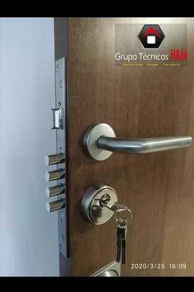Cerraduras de Seguridad - Cerrajería en Mosquera - Aperturas - Chapas de Seguridad, Instalaciones de Chapas, Cerrajeros