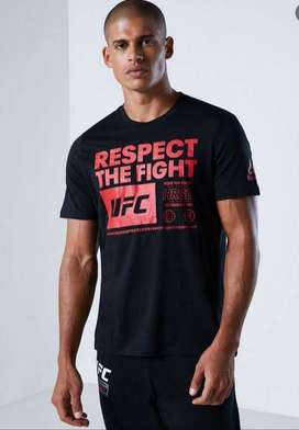 Camiseta Reebok UFC respect the fight talla M
