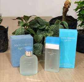 Perfume lith blue