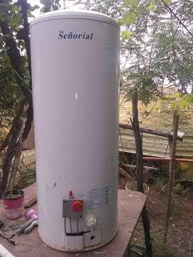 Vendo termotanque 85 litros  marca señorialtres años de uso funcionan