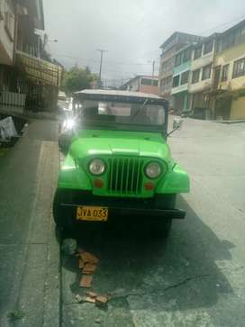Se vende Jeep willis
