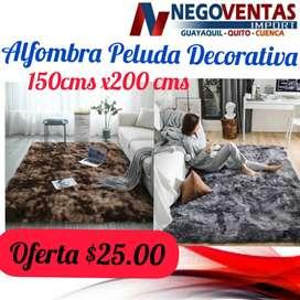 ALFOMBRA DE SALA MINIMALISTA AFELPADO DE 1.50X2CM
