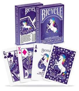 Cartas Bicycle Unicornio Bestia Mítica Magia Baraja Original