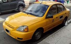 Vendo Taxi Kia Rio y Cupo