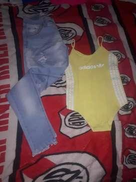 Jeans y bodi