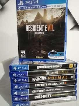 Venta y cambio de juegos PS4