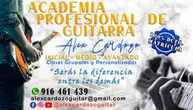 Aprenda Guitarra como los Profesionales (A DOMICILIO)